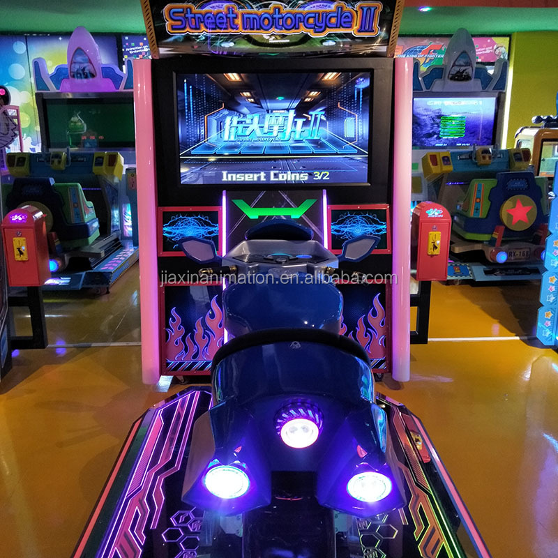 Outrun 2016 Arcade Coin Operated Driving Simulator Moto Racing Game Machine