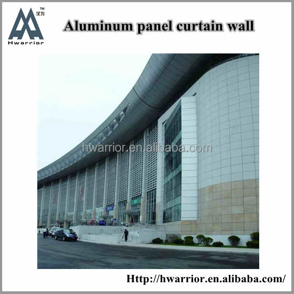 Hwarrior New Products Customized Design And Fabricate Hot Sell Fiberglass Curtain Wall