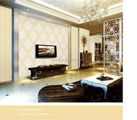 2014 new arrivals hot selling modern wall paper wholesale fashion wallpaper decoration