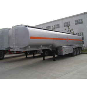 3 Axle 42cbm fuel diesel tanker semi trailer for sale in Africa