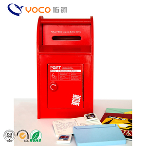Sale mailbox for letters and parcel standing in China waterproof mailbox