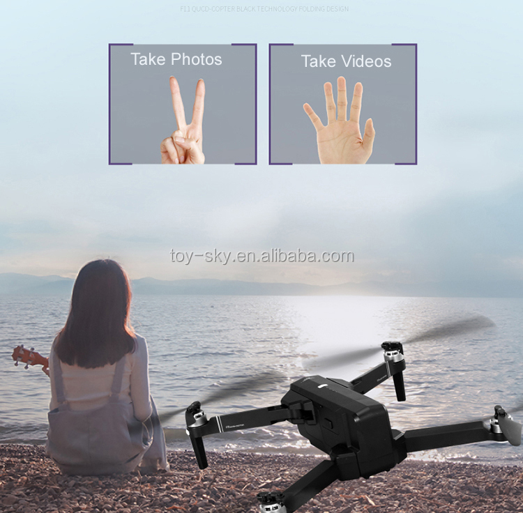 2019 F11 5G Professional Brushless Drone wth Camera and GPS 1080P Gimbal Camera 25mins Flight Time