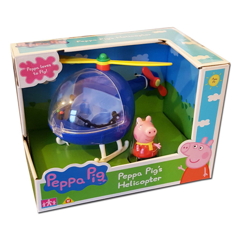 Peppa Pig Peppa's Blue Helicopter Playset