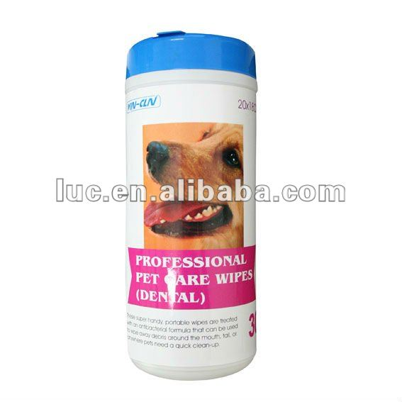 Pet Teeth cleaning Wipes/pet dental wipe