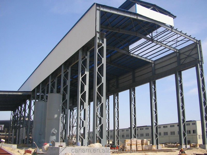 Made in China steel structure building