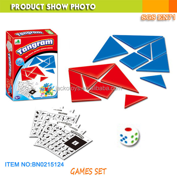 Tangram game toy education toy for kids