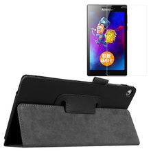 New Luxury Folio Stand Leather Protective Case Cover +1x Clear Screen Protector For Lenovo Tab 2 Tab2 A7-20 A7-20F A7 20F 7″