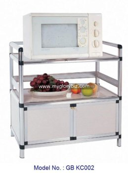 Kitchen Rack Cabinet For Aluminum Furniture Small Aluminium Design