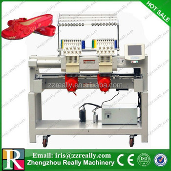 Two Heads Computerized Embroidery Machine Price In India - Buy Embroidery MachineEmbroidery ...