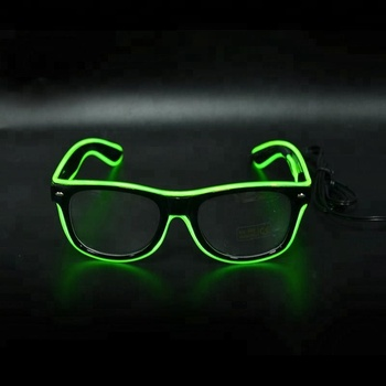 Flashing Sunglasses EL Glowing Sunglasses Event Party Festival Favors