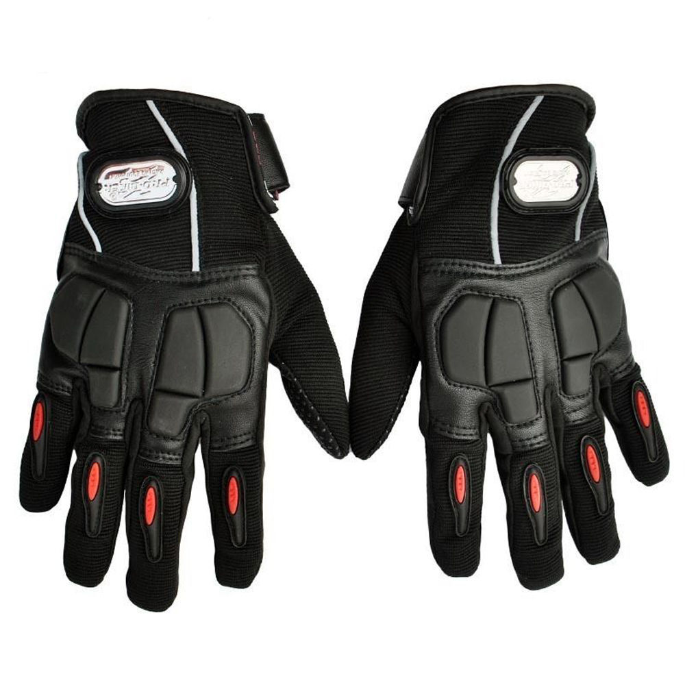 Motorcycle gloves xl - Windproof Full Finger Pro Biker Motorcycle Gloves D50 Size Protective Moto Gloves