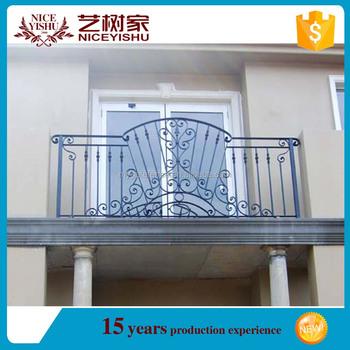 Yishujia Fabrik Metall Stahl Outdoor Balkon Handlauf Zaun Eisen