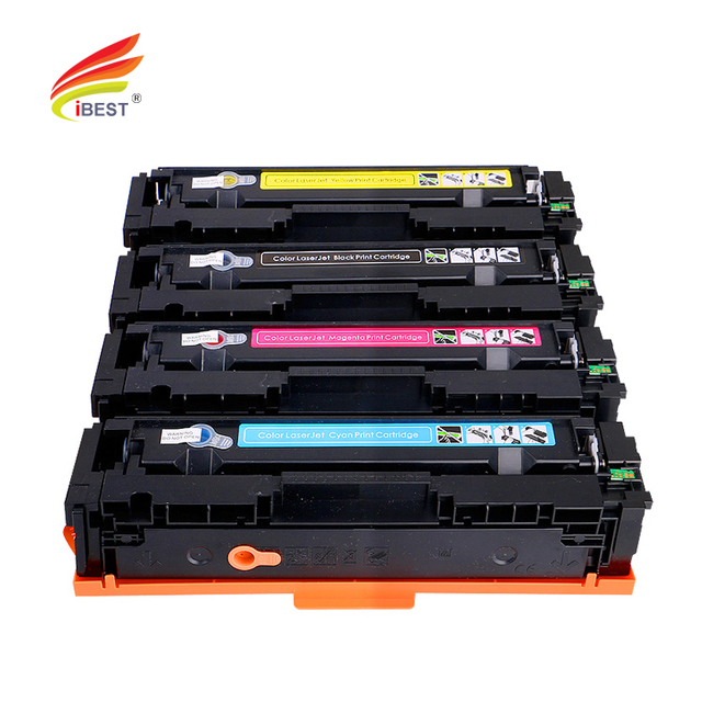 CF400A 201A Toner Compatible HP Color Laserjet Printer Toner Cartridge For HP M252 M257