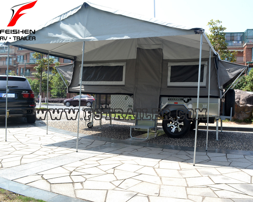 Camper Trailer Kitchen New Hard Floor Camper Trailer With Tent For Sale Buy Mini Camper