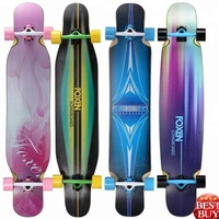 Manufacture best quality longboard dancing . canadian maple complete longboard
