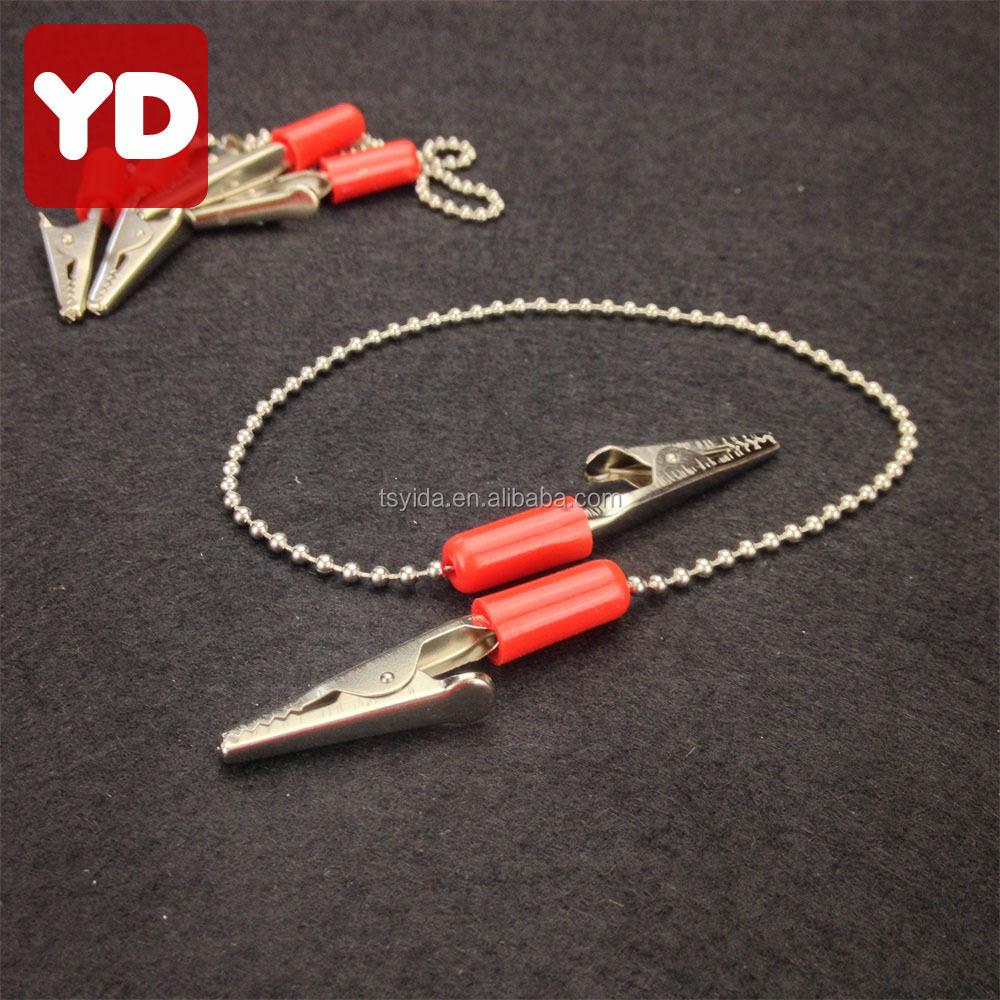 Beauty & Health Reasonable 100 Pcs Dental Instrument Bib Clips Chain Napkin Holder Autoclavable Rubber Modern Techniques