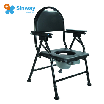Disabled Commode Chair For Elderly With Bedpan - Buy Medical ...