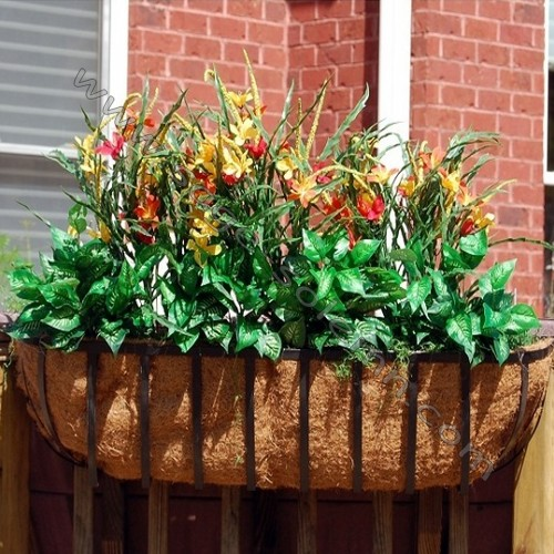 Wholesale Wire Hanging Baskets With Coconut Liners, Wholesale Wire ...
