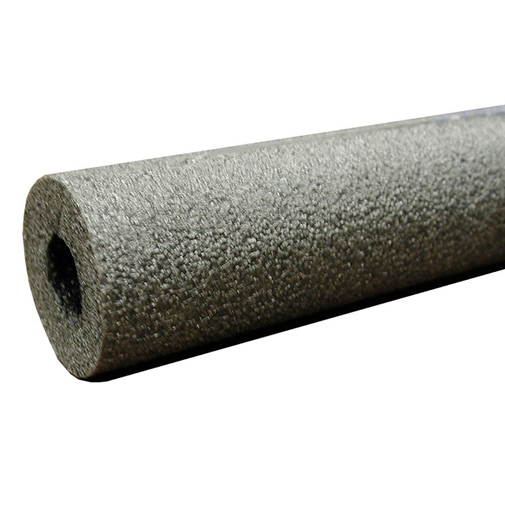 """Jones Stephens, JS 2-5/8"""" ID (2-1/2"""" CTS) Self-Sealing Pipe Insulation, 3/8"""" Wall Thickness, 1.844 R Values - I52258"""