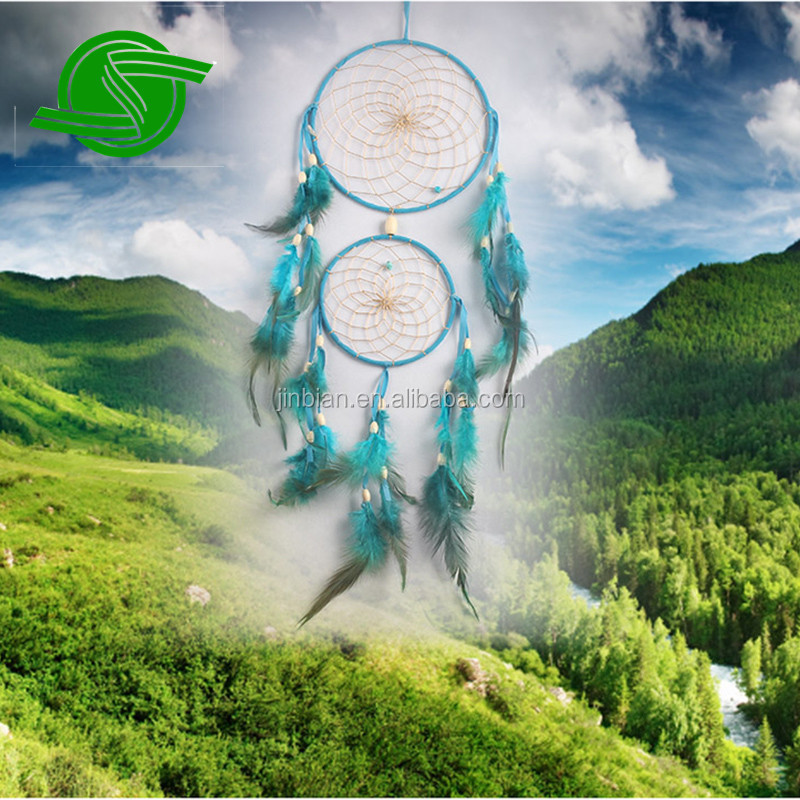 indian style large size handmade dream catcher , colorful customized dream catcher