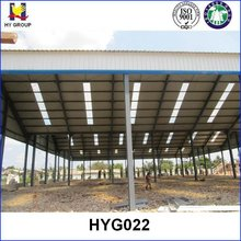Light prefab steel structure roofing