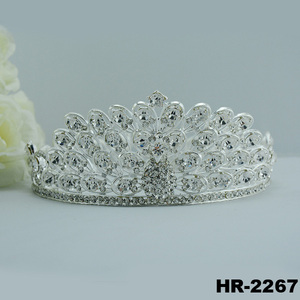 Hair accessories fashion jewellery bridal headpiece wholesale crowns and tiaras india wedding tiaras