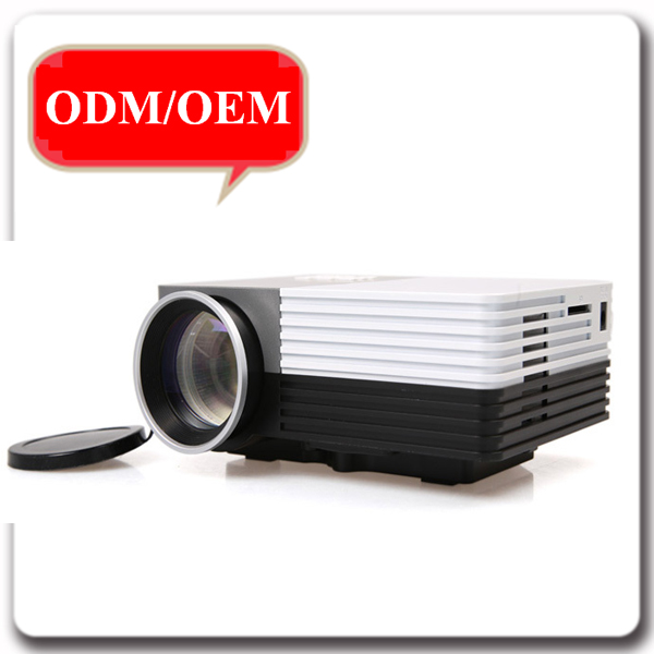 Portable HD 1920x1080 600 Lumens LED Projector Used Home Theater Business Education