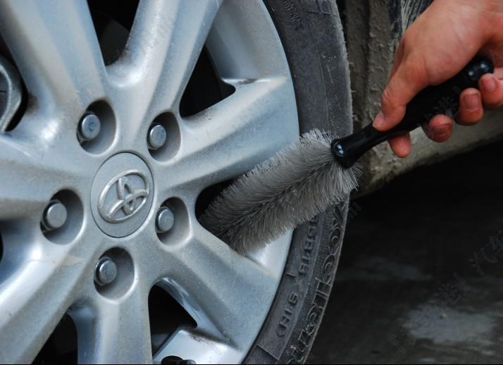 Новое поступление автомобильных шин / колесо стиральная / Scrubing инструменты авто обод кисти многофункциональный густые волосы