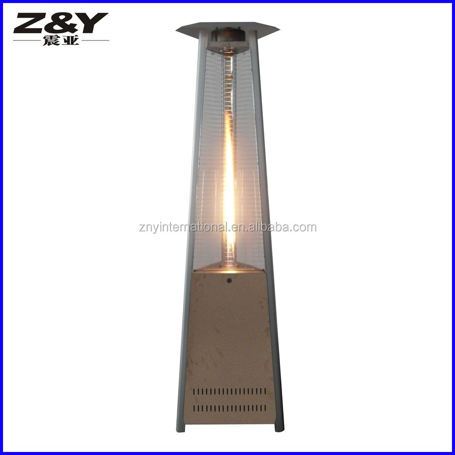 Best Sell Glass Tube Pyramid Gas Outdoor Heater