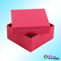 2015 high quality cardboard packaging paper jewelry box