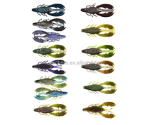 Soft Lures Big Daddy Craw & Flasher Minnow Simliar TO Vok ตกปลา