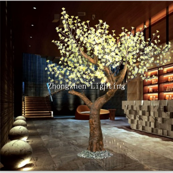 Outdoor Pre Lit Warm White Artificial Led Cherry Blossom Tree Light Product On Alibaba