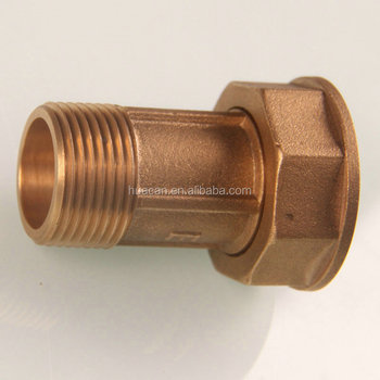 high quality brass Gas meter connector/Brass fitting connector for gas meter