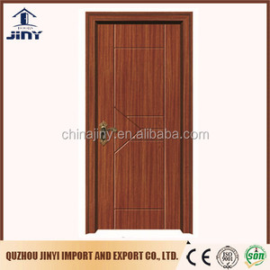 2017 popular new design cheapest holtel mdf door made in jiangshan