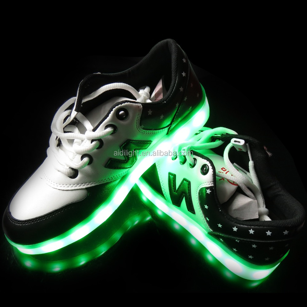 LED Light Up Shoes With Remote Flashing Sneakers for Children to Adults