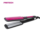 PRITECH Customized Infrared Function LCD Display Ceramic Coating Hair Straightener