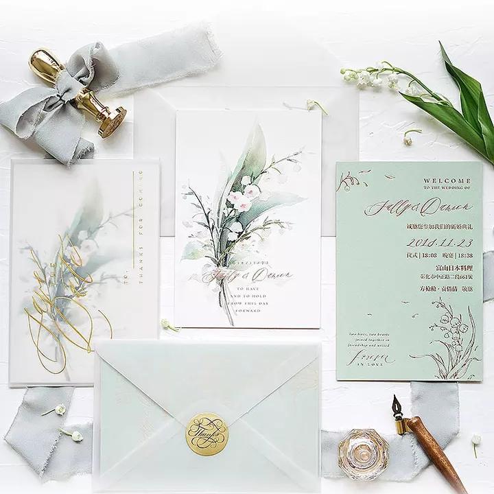 結婚式カード素材/木製結婚式の招待カード/結婚式の招待状カード