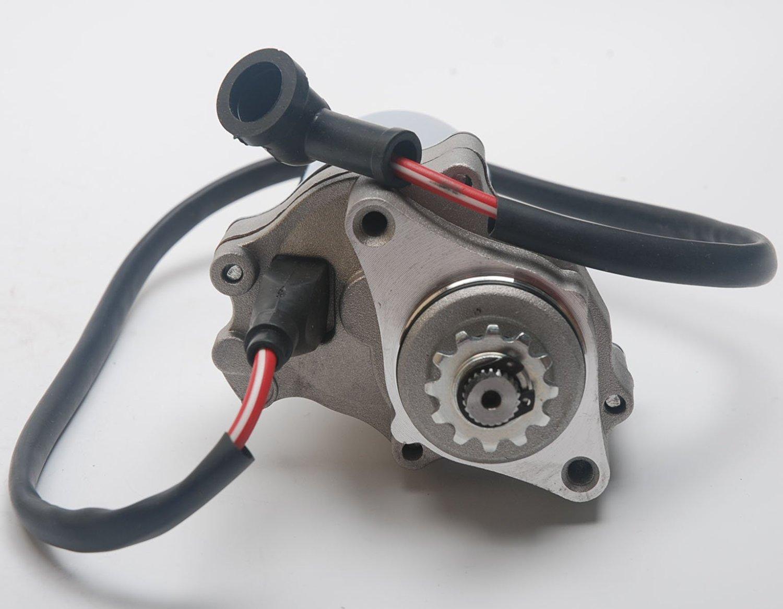 VideoUP(TM)Starter Motor for 50cc 70cc 90cc 110cc Kids ATVs with Under Engine Position(Bombardier, Kawasaki, Polaris, Kazuma, Redcat and Suzuki Kids Models from 50cc to 110cc)