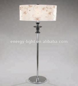 2019 Modern steel halogen floor lamp/light for bedroom and UL Listed