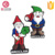 Christmas Gift Cute Santa Claus soft rubber PVC fridge magnet