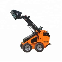 EPA 30hp <span class=keywords><strong>Motore</strong></span> Diesel 400 kg carico Nominale Mini Pala <span class=keywords><strong>Skid</strong></span> <span class=keywords><strong>Steer</strong></span> con Racchette Da Neve Spazzatrice Angolo Scopa