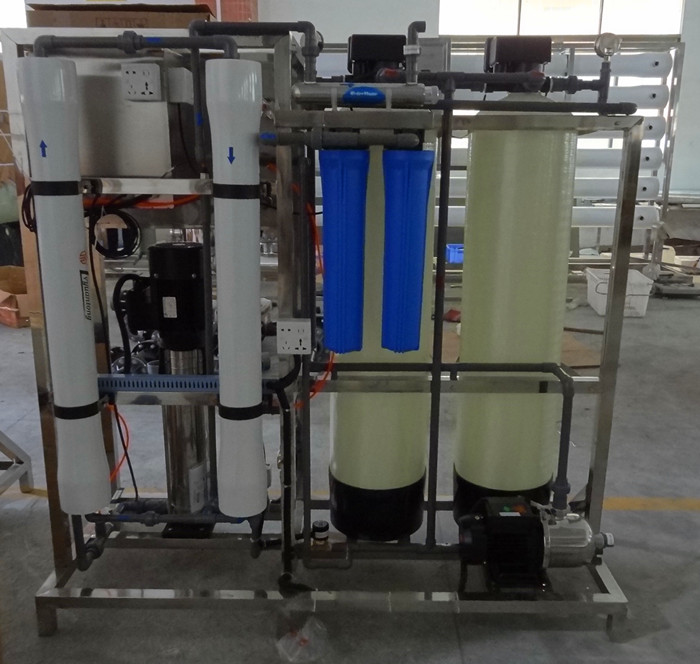 500LPH suitable use low pressure alarming well water purification system/ro water filtration