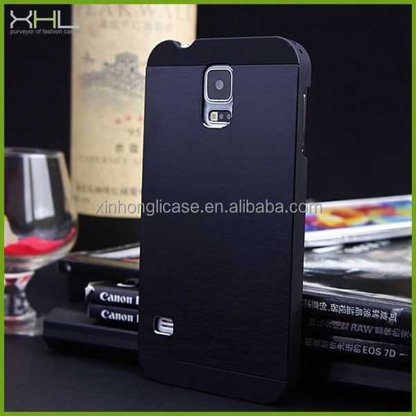 new products metal back cover for samsung galaxy s5, for samsung galaxy s5 case