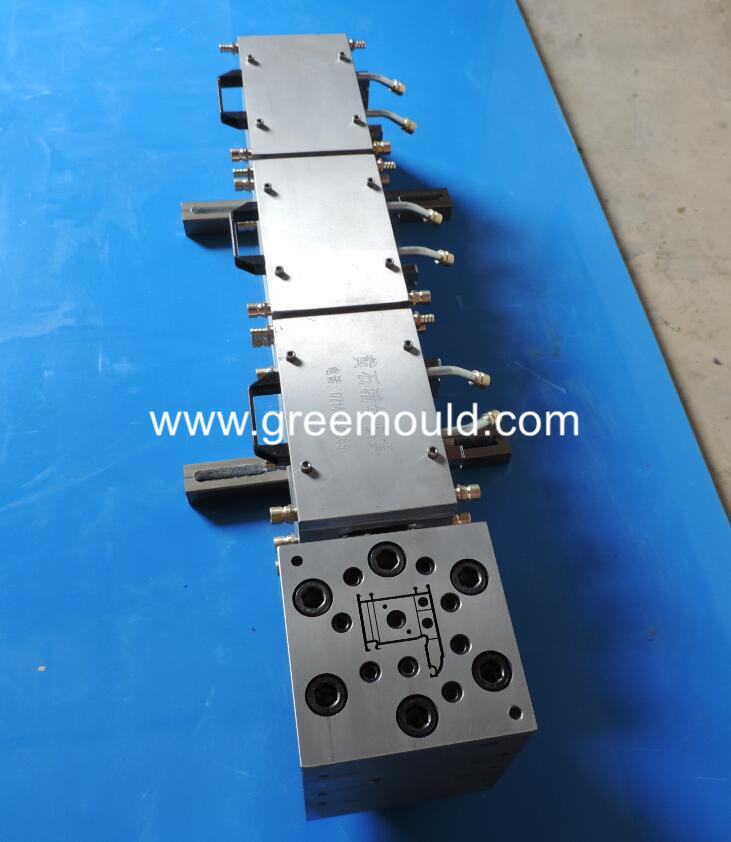 pvc extruder window profile strap mould