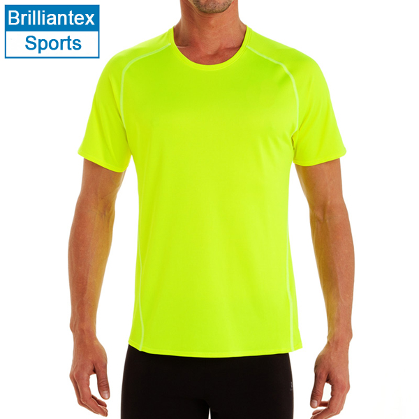 10f1c387d01 Neon Color Design Quick Dry T Shirt with O Neck Wholesale Blank T Shirts  Sports T Shirt