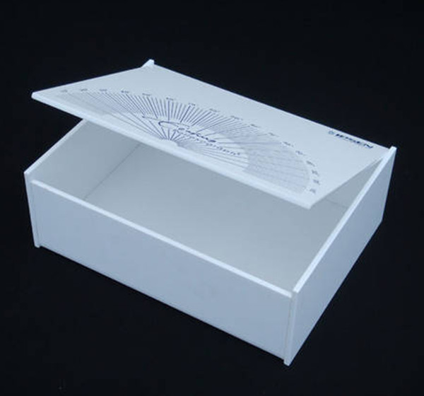 Acrylic Boxes Small : Clear acrylic boxes with hinged lid buy
