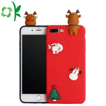 OEM Cartoon Mobile Phone Cover High Quality Silicone Phone Case For 6/6s/7/7s
