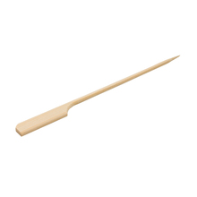 Disposable bamboo cutlery paddle pick skewers sticks