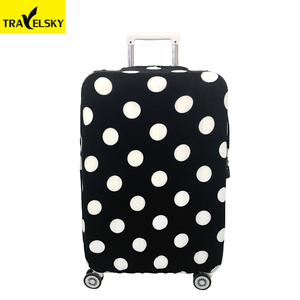 1686108 Wholesale high elasticity protective spandex luggage cover