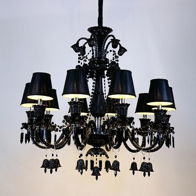 Buy cheap china design black chandelier products find china design classic black new design baccarat chandelier pendant lamp aloadofball Image collections